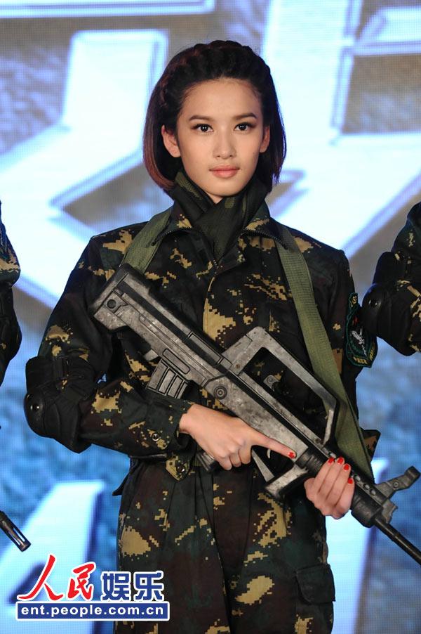 张柏嘉饰演林木子 -麻辣女兵 将播 制片向贾乃亮李小璐致歉