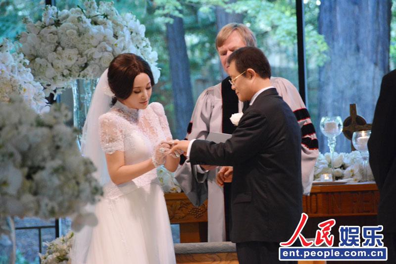 刘晓庆大婚现场_刘晓庆美国低调大婚 婚礼现场照曝光(图) - 时尚中国