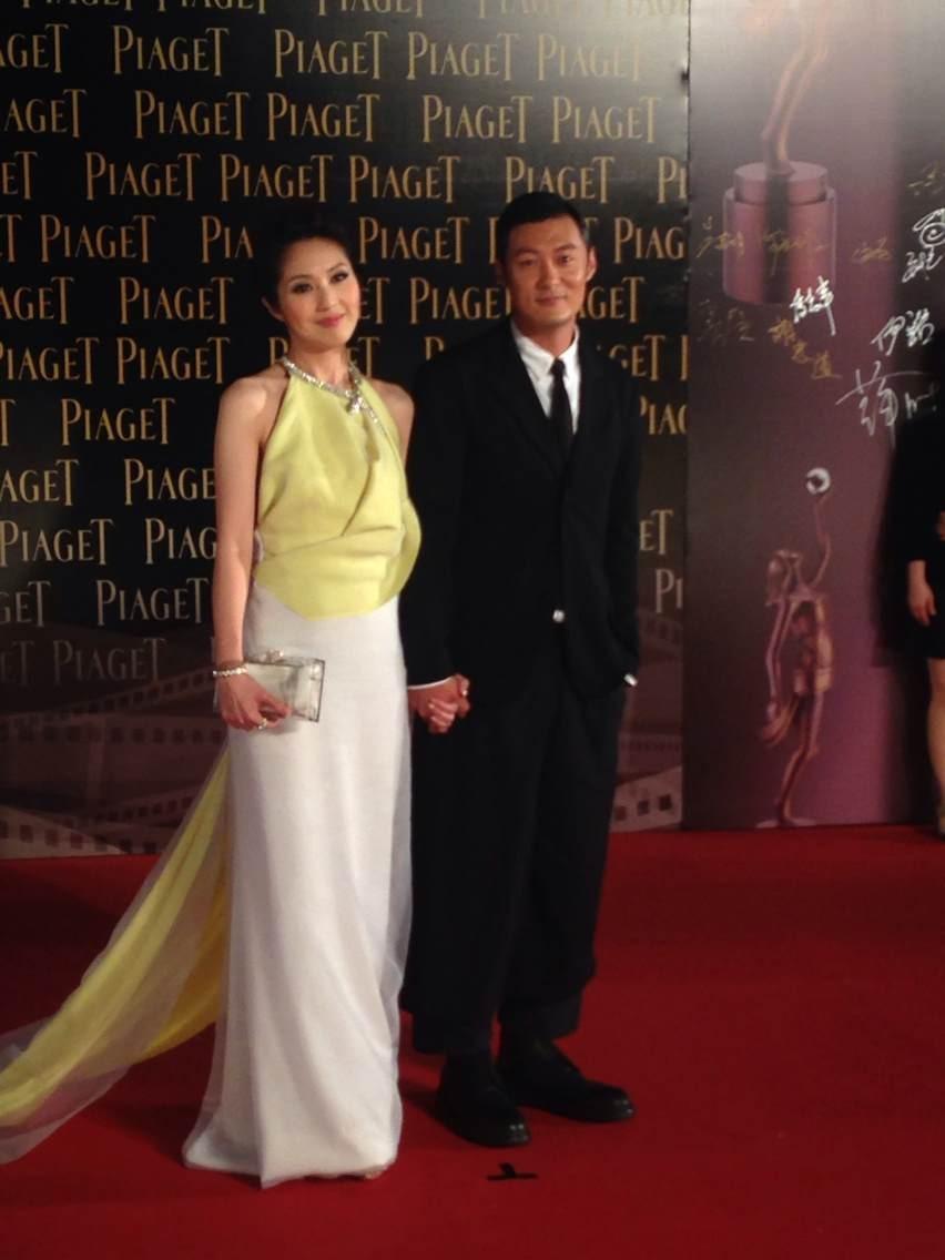 快讯:第33届香港电影金像奖红毯:余文乐