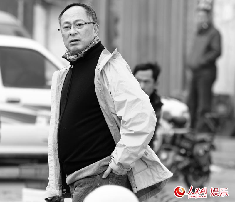 华语电影传媒大奖光影13年回顾展 杜琪峰开讲 组图