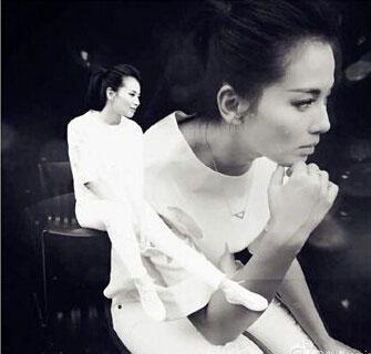 刘涛头发被梳起气场强大网友:酷酷的,好帅/图
