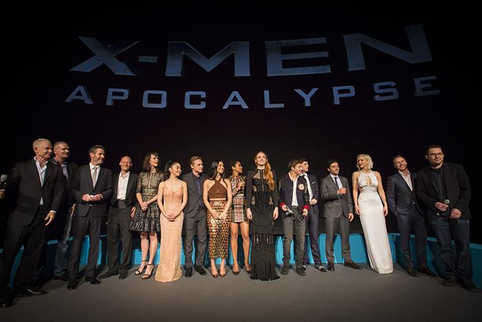 《X战警》全阵容亮相英国首映 劳伦斯惊艳
