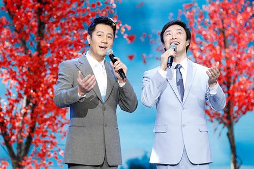 蔡国庆首次携子加盟东方春晚 与费玉清