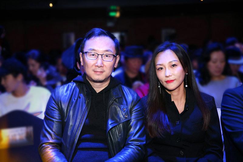 陆川导演与《尺八·一声一世》总制片、总导演Helen