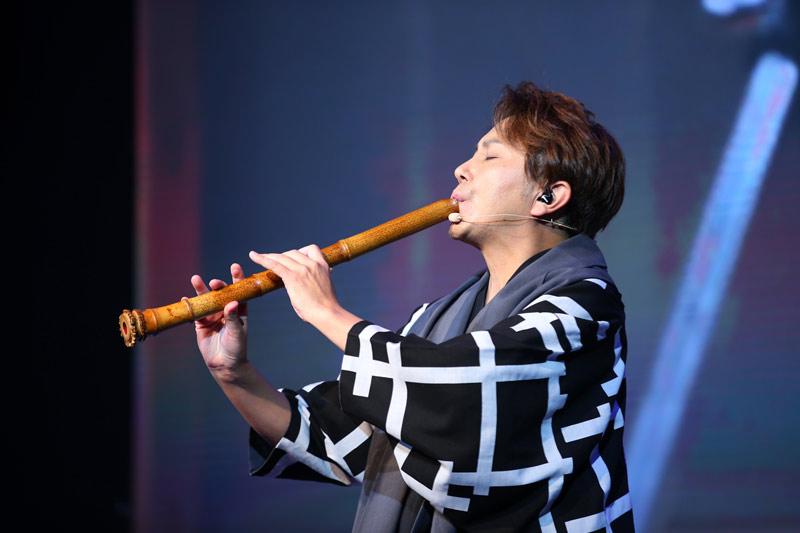 日本著名尺八演奏家佐藤康夫演奏《一声一世》