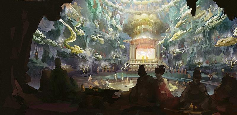 """首曝《妖猫传》惊艳手绘图 屠楠解密陈凯歌""""诗意""""背后"""
