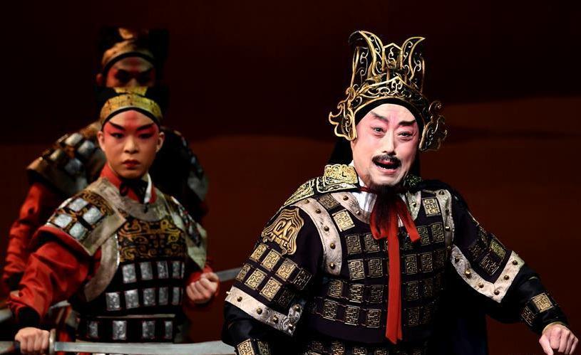 新编京剧《项羽和两个女人》亮相台北