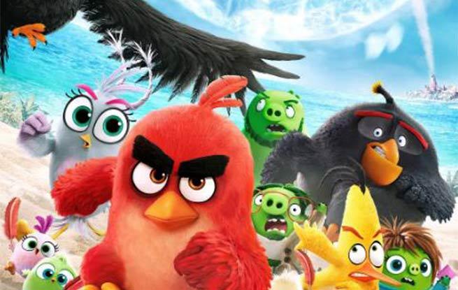 8月动画电影来了 《愤怒的小鸟2》超能打