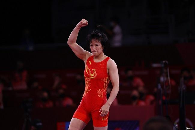 东京奥运会:孙亚楠晋级摔跤女子自由式50公斤级决赛