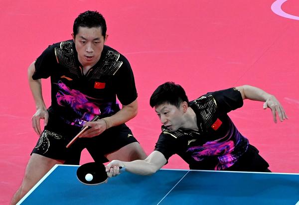 东京奥运会乒乓球男团:中国队3:0胜德国队实现四连冠