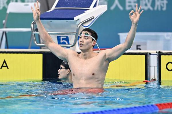 400米混合泳实现三连冠 汪顺:希望下一届全运会继续蝉联