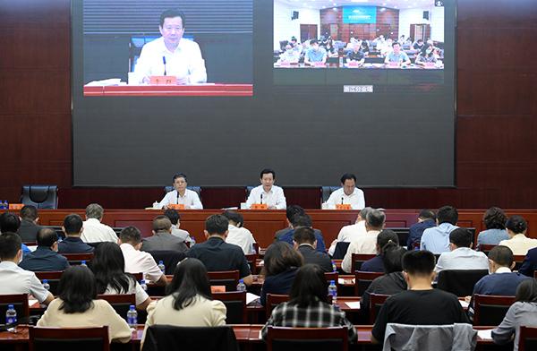 全国文物援藏工作电视电话会议召开