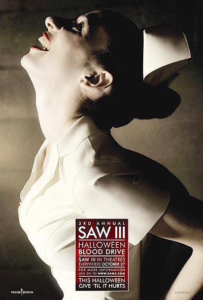 美国最新票房冠军《电锯惊魂3》精彩海报