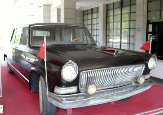 周总理乘坐过的红旗轿车