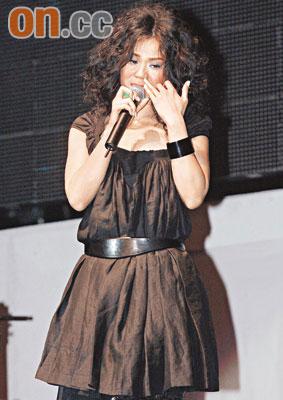 蔡健雅入行11年首次个唱 梦想成真激动落泪