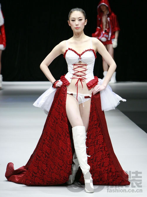 北京服装学院08届毕业生设计作品展示 (3)