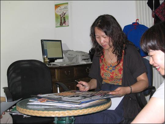 北京服装学院王羿副教授(中国服装设计师