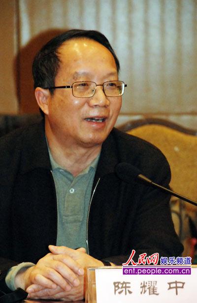 全国台联副会长陈耀中(人民网记者 蒋波摄)