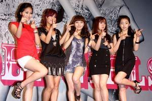 Wonder Girls访台记者会紧张 尝遍美食心情大好
