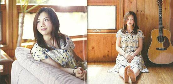 日本才女歌手yui 最新杂志写真与专辑