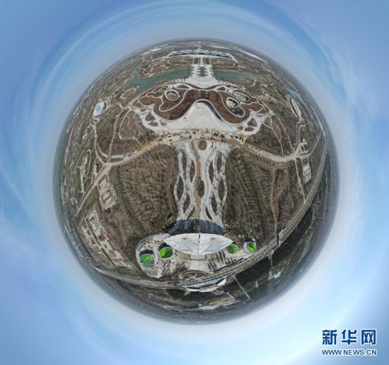 探访上海崇明花博园