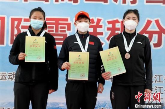 颁奖仪式。黑龙江省体育局供图
