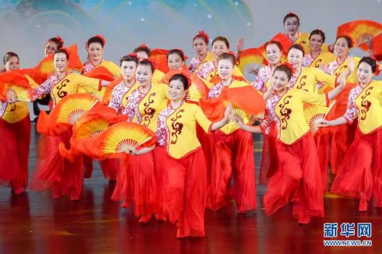 闵行:市民舞蹈登上剧院大舞台(图1)