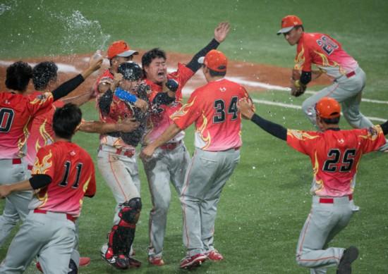 全运会 江苏3:1击败天津夺得男子棒球冠军