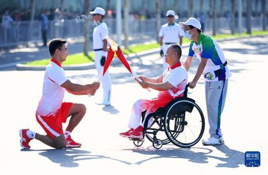 全运会:十四运会和残特奥会火炬传递活动在西安落幕