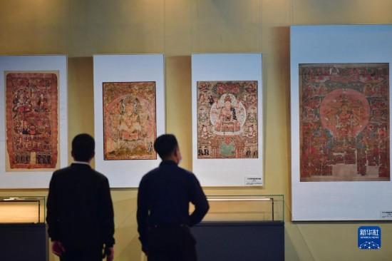 """""""到世界找敦煌""""――200件敦煌流散海外文物复制品展出"""