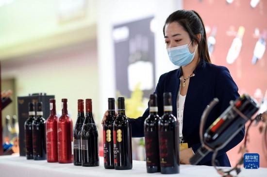 首届中国(宁夏)国际葡萄酒文化旅游博览会开幕